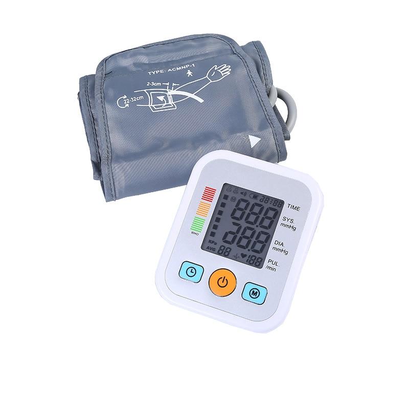 ZOSS Home Sphygmomanometer Digital Detection Blood Pressure Automatic Voice Prompt LCD Screen Arabic Digital Sphygmomanometer платье zero платье