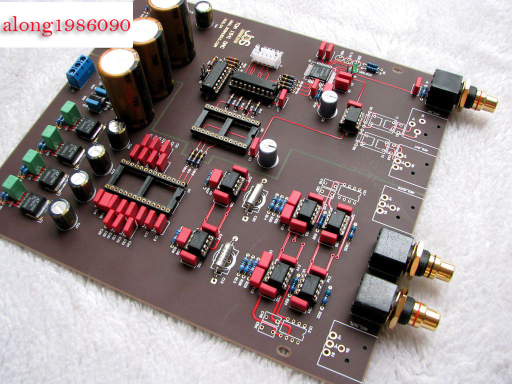 Audio & Video Replacement Parts Lite Ls29 Pcb Tube Buffer Preamplifier Board Pcb Based On Musical Fidelity X10-d Pre-amp Circuit