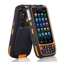 Промышленные прочный смартфон мобильный КПК коллектор терминала данных Android 1D 2D сканера штриховых кодов с Wi Fi Bluetooth 4 г