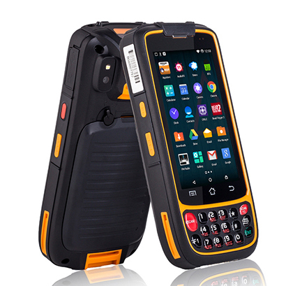 Industrial Rugged Smart Phone Mobile Handheld PDA terminal Data Collector Android 1D 2D Barcode Scanner with wifi bluetooth 4G industrial rugged handheld data collector wireless 4g mobile data terminal 1d 2d laser barcode scanner android pda device
