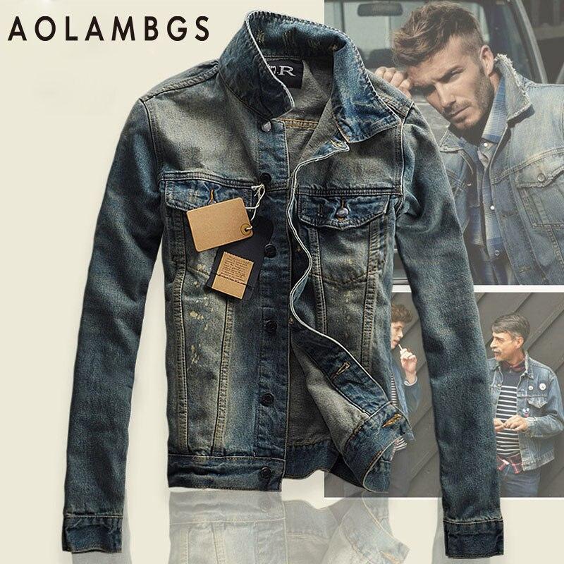 Jean Jacket Men Promotion-Shop for Promotional Jean Jacket Men on ...