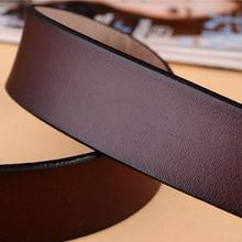 Men's Genuine Leather Metal Pin Buckle Belt