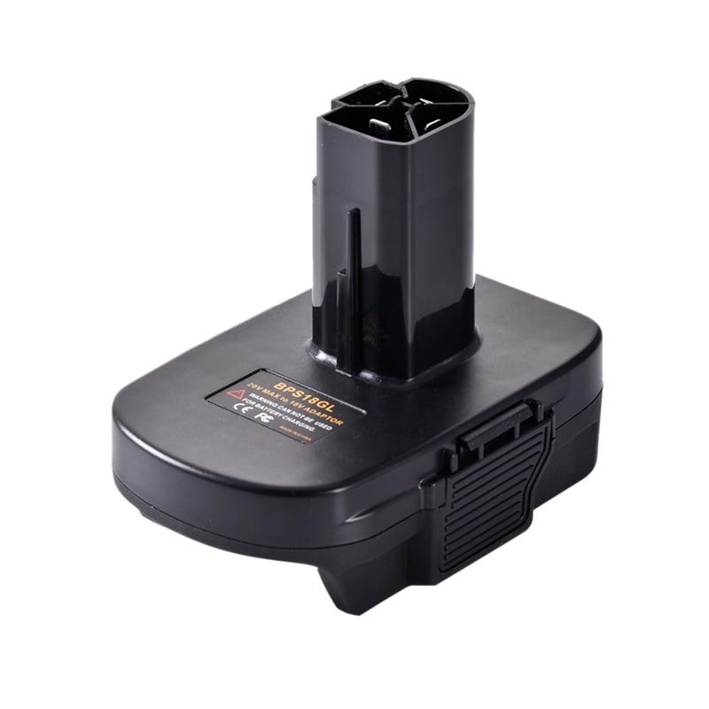 Bps18Gl 20V To 19.2V Lithium To Nickel Battery Convert Adapter For  Porter Stanley For Craftsman 19.2V Volt Batter