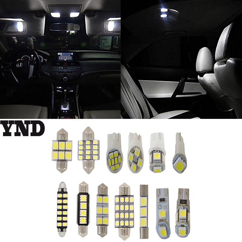8x Fit <font><b>2015</b></font> <font><b>TOYOTA</b></font> <font><b>4RUNNER</b></font> 4.0L V6 LED Full Interior Lights Package image