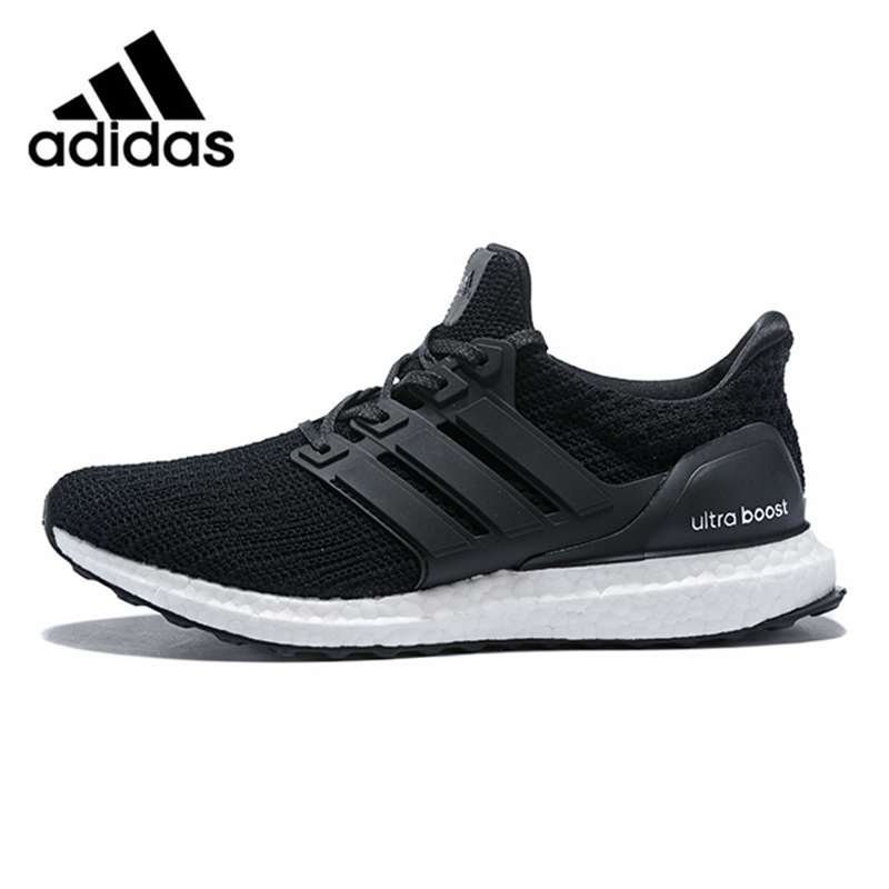 e3a28996e9cb Adidas Ultra Boost 4.0 UB 4.0 Popcorn Running Shoes Sneakers Sports Black  White for Men BB6166