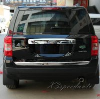 Car Stickers Chromed ABS Plastic Rear Trunk Lid Cover For Jeep Patriot 2007 2013
