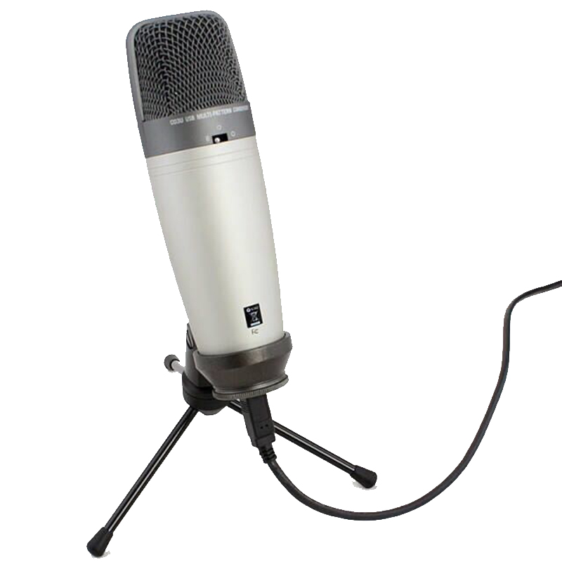 Samson c03u Multi Pattern USB Studio Condenser Microphone Large diaphragm recording microphone has USB cable