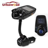 Urbanroad Авто Беспроводной Bluetooth fm-передатчик модулятор автомобильные Mp3 модулятор плеер автомобильный комплект громкой связи USB Зарядное устр...