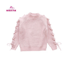 2017 Autumn Winter New Fashion Girls Sweaters Kids Long Sleeve Knitted Sweaters Casual Cotton Girls Sweater 4 6 8 10 12 Years kids dresses for girls sweaters 2017 new autumn cotton sweater dress for girls clothing school kids clothes 10 11 12 13 14 years