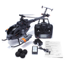 FX070C 2.4G 4CH 6-Axis Gyro Flybarless MD500 Scale RC Helicopter Attack Helicopter for Kids Outdoor Remote Toys Gift RC Drones