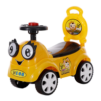 Baby Cartoon Toy Cars four wheels Ride On Toys toddler Outdoor swing Balance push bike Slide Vehicle 1 5 Years Kids Scooter Car