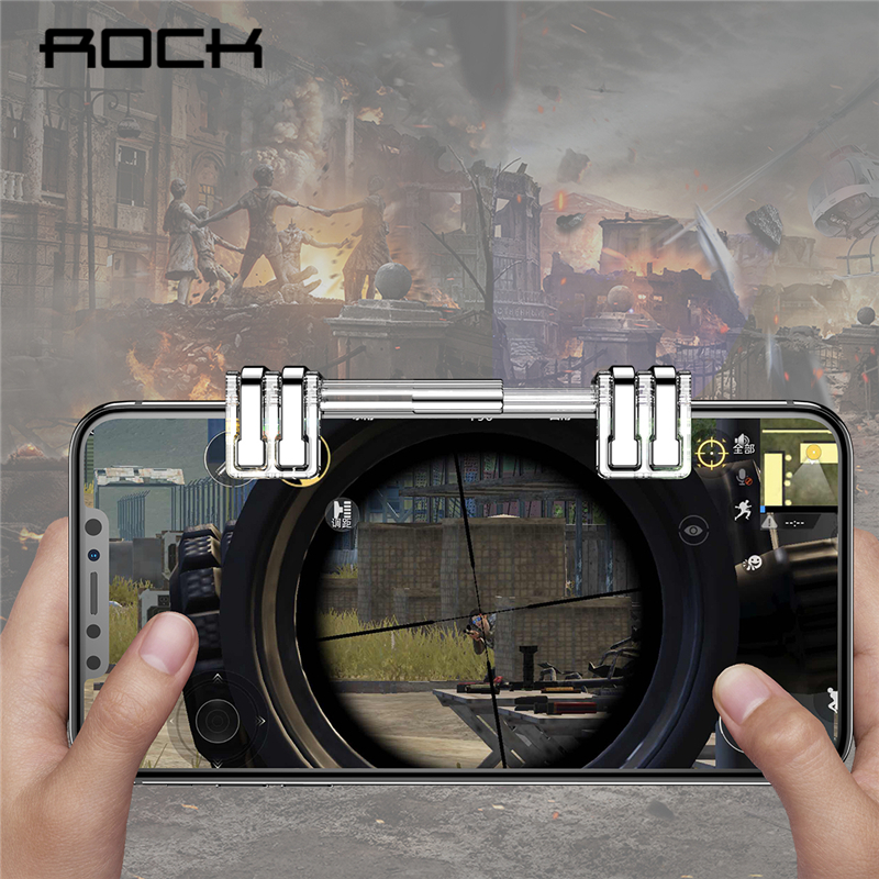ROCK Retractable L1R1 Mobile Phone Shooting Game Tr