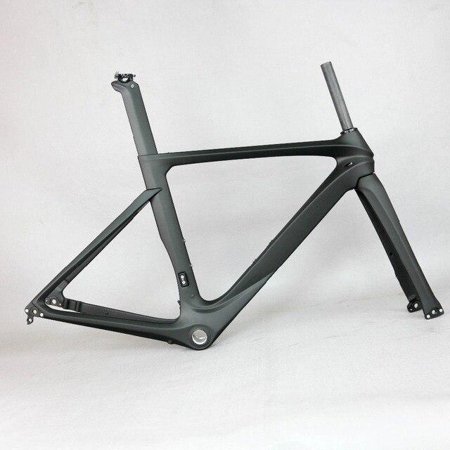 ed1d91420d8 OEM products black matte disc road carbon frame . TT-X15 carbon frame, aero  road bicycle carbon frame .
