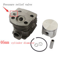 Cylinder Piston Kits For Husqvarna 55 51 Chainsaw MPN 50360 91 71 Diameter 46mm