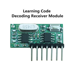 Image 5 - QIACHIP 433 Mhz Remote Control and 433Mhz Wireless Receiver Learning Code EV1527 Decoding Module 4Ch output With Learning Button