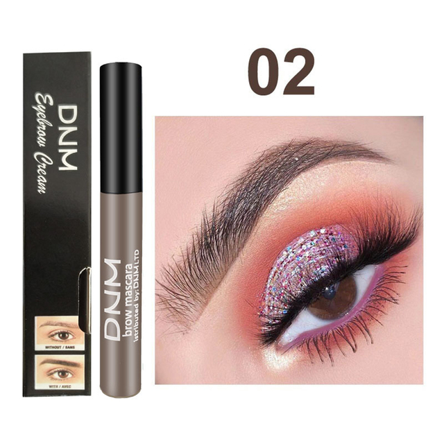 1PC Waterproof Makeup Eye Brow Gel Coffee Black Brown Color Eyebrows Gel Paint Eyebrow Tint Mascaras Kit Eye Brow Beauty Tools 3