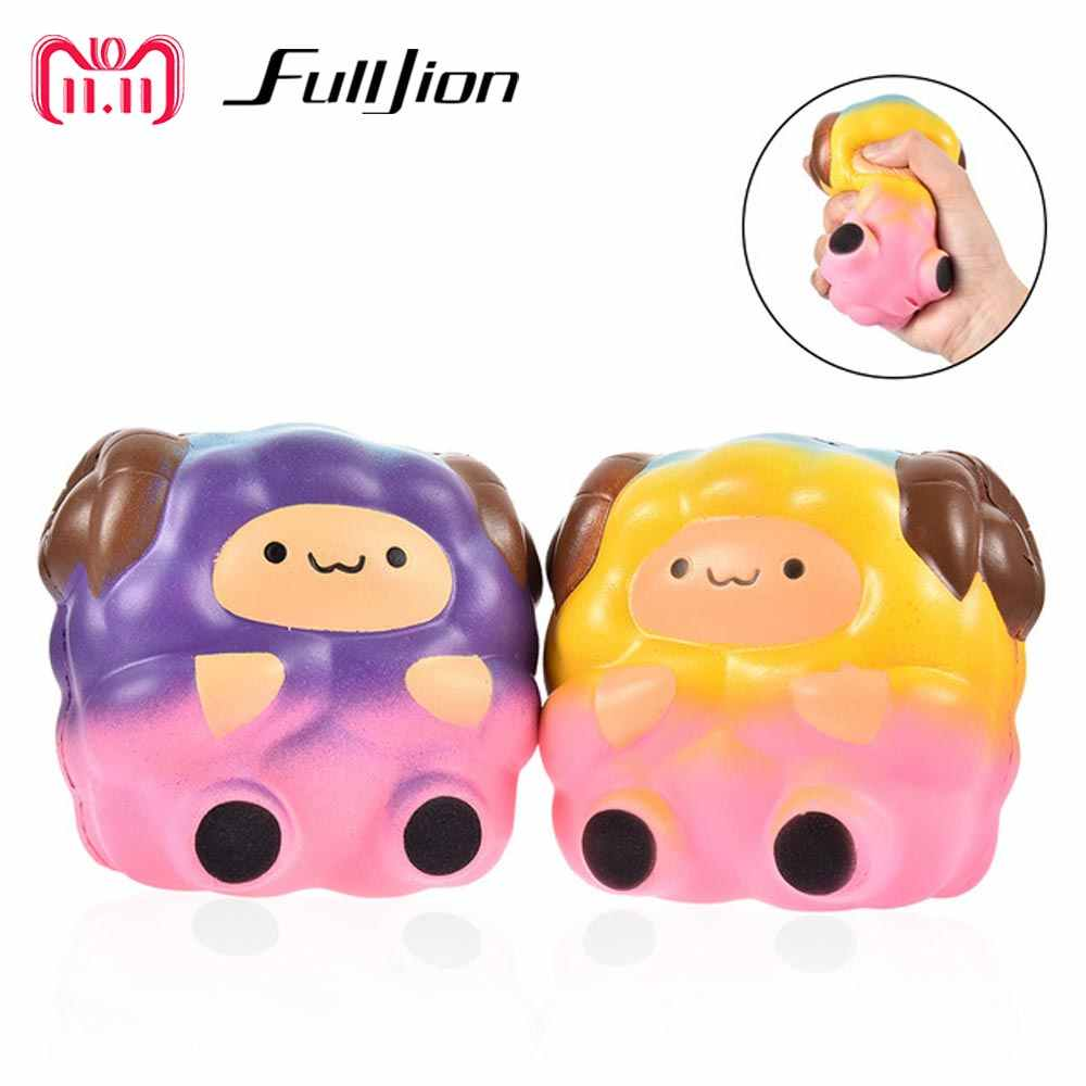 Fulljion антистресс jumbo мягкое медленное увеличение овец мягкость Новинка кляп игрушки развлечения забавная игрушка для снятия стресса практичные шутки