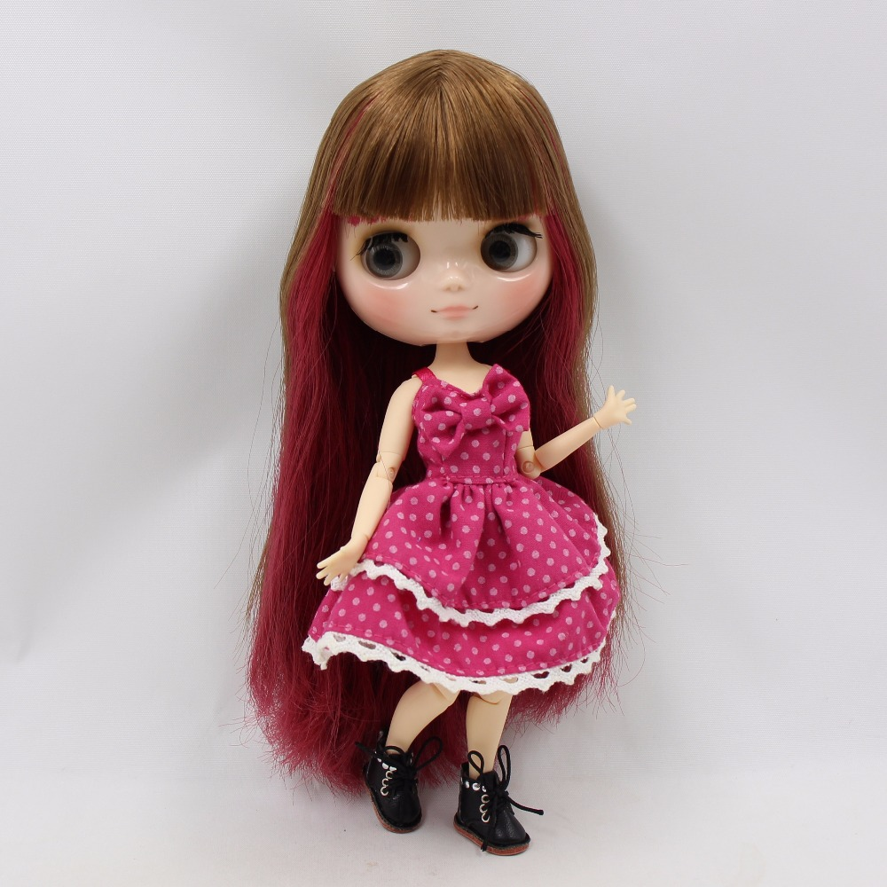 Middie Blythe Doll with Multi-Color Hair, Tilting-Head & Jointed Body 2