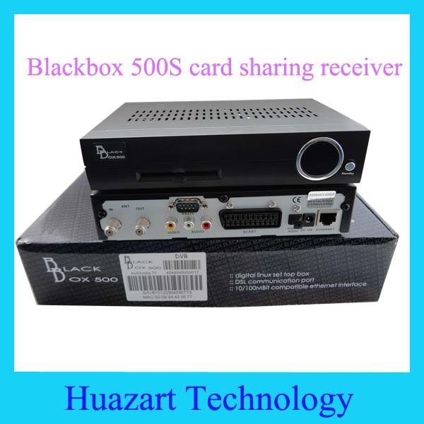 Best Price Blackbox 500S Digital Satellite Receiver Linux OS