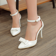 Frauen sommer party sandalen laidies schnee weiß mint grün spitze riemchen high silber heels große frauen hochzeit schuhe 305-2