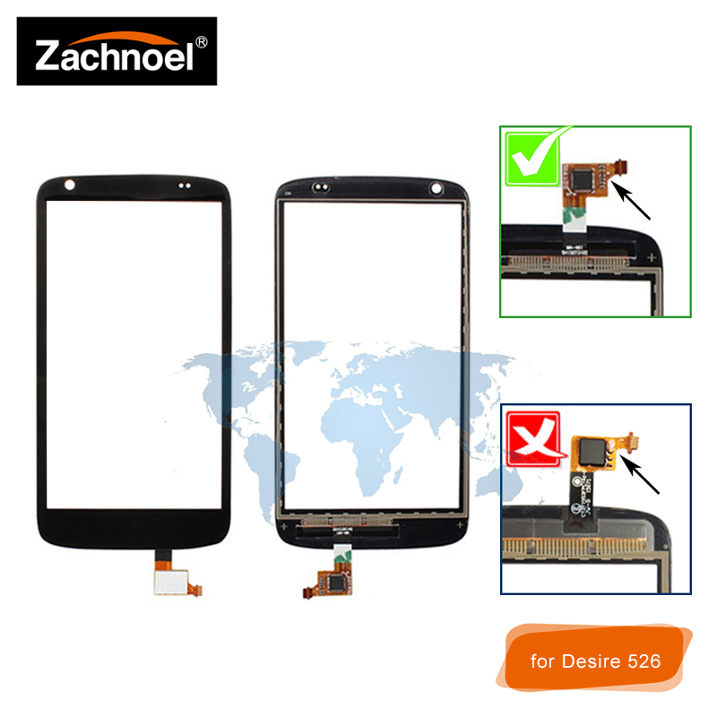 Lens-Panel Touchscreen-Replacement Digitizer 526G Desire HTC Sensor Front-Glass