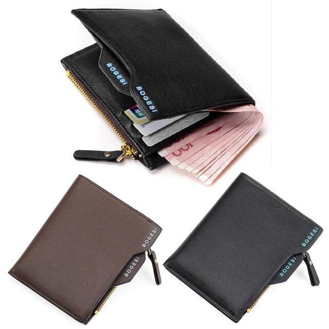 26600b0c6dea8 Mens designer brieftaschen berühmte marke brieftasche 2017 leder herren  geldbörse reißverschluss männlich cash geldbörse tasche geld