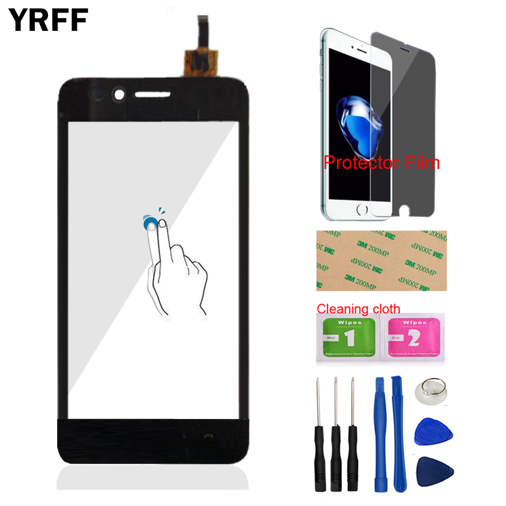4G Phone For Huawei 4G Y3 II LUA-L03 LUA-L21 LUA-L23 Front Touch Screen Touch Digitizer Panel Glass Free Protector Film Adhesive