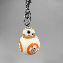 Star Wars The Force Awakens Reduction Keychains BB-8 Droid Robot Pendant