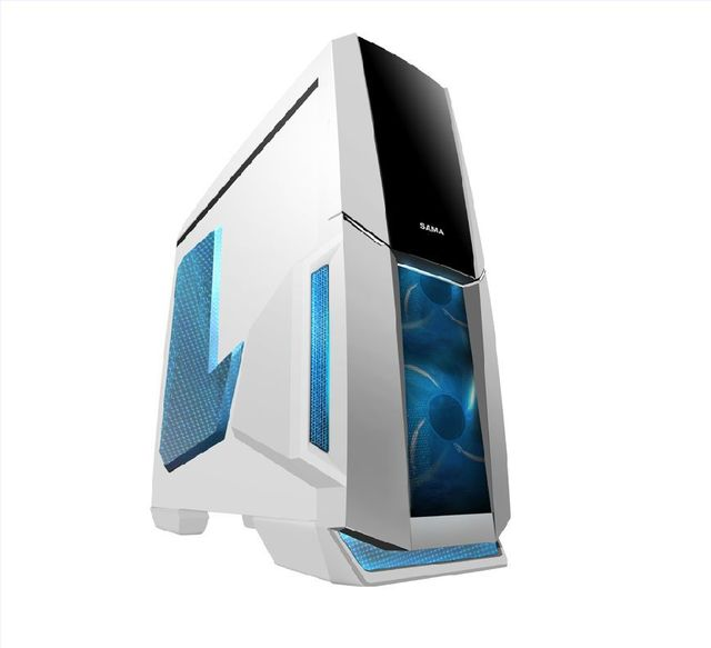 Desktop PC first soldier Side transparent Water-cooled Desktop Games computer main chassis