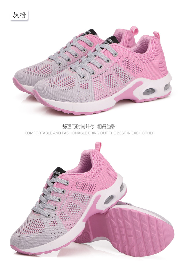 18 Women Breathable mesh Casual shoes Woman Flat platform shoes Air damping fashion zapatillas mujer casual tenis feminino 9