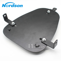 New 1pc High Quality Black Motorcycle solo Seat Baseplate Bracket For HONDA STEED MAGNA SHADOW Chopper Bobber