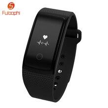 A09 Bluetooth 4.0 умный Браслет монитор сердечного ритма браслет IP67 Водонепроницаемый спортивные группы фитнес-трекер часы для iOS и Android