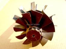 S200 Турбо части вала Турбины и колеса размер 55.8 мм * 72 мм для турбо замена поставщик AAA Частей Турбокомпрессора