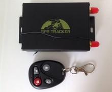 Sin caja, GPS TK105B Perseguidor Del Vehículo del gps gsm gprs perseguidor del coche anti-robo sistema de Alarma Antirrobo sistema de Servicio de Plataforma Web gratuito