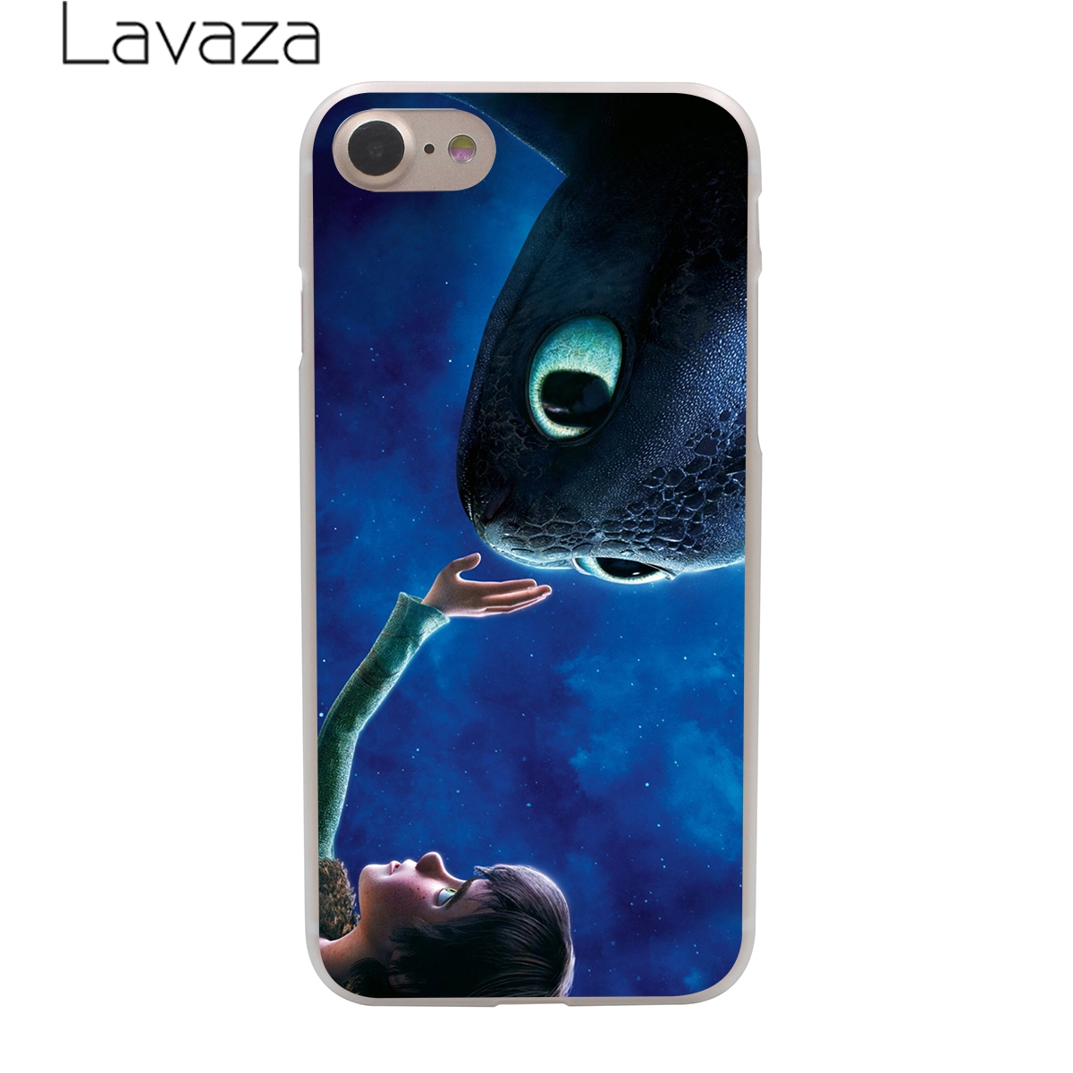 Lavaza Toothless Train Your Dragon Hard Phone Case for iPhone XR X XS 11 Pro Max 10 7 8 6 6S 5 5S SE 4 4S Cover in Half wrapped Cases from Cellphones Telecommunications