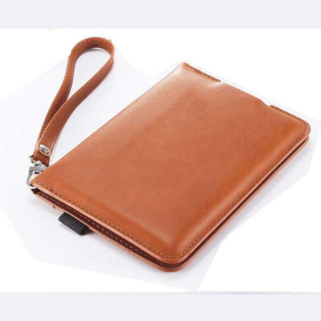 US $7 36 5% OFF Vintage Luxury PU leather cover case with magnetic closure  funda for Amazon Kindle Paperwhite 1/2/3 +stylus pen-in Tablets & e-Books