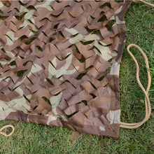 Desert  Camo Netting Military Camo Netting Army Camouflage  Net Shelter for Hunting Camping Sports Tent 6*10M(236in*394in)