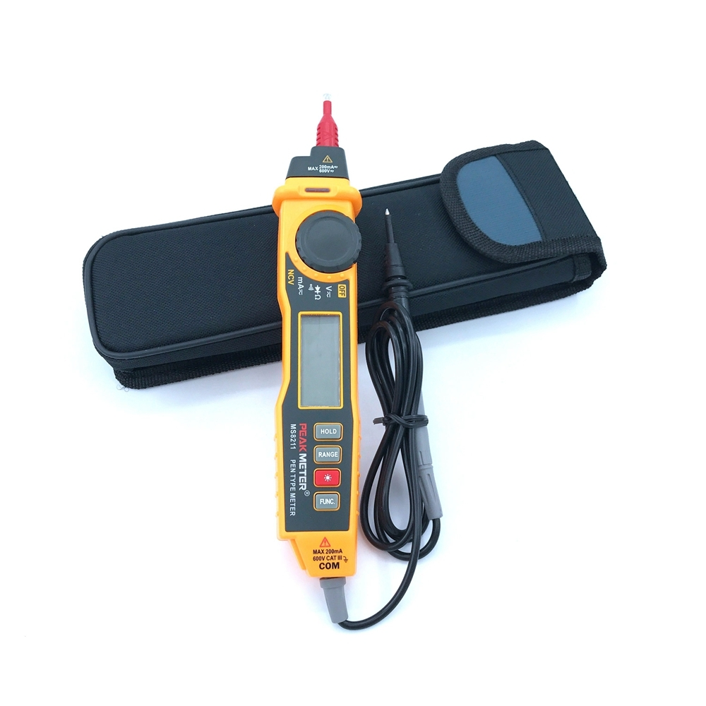 Digital Multimeter Pen Type MS8211 2000 Counts Non Contact AC DC Voltage Current Electric Handheld Multitester Diode TesterDigital Multimeter Pen Type MS8211 2000 Counts Non Contact AC DC Voltage Current Electric Handheld Multitester Diode Tester