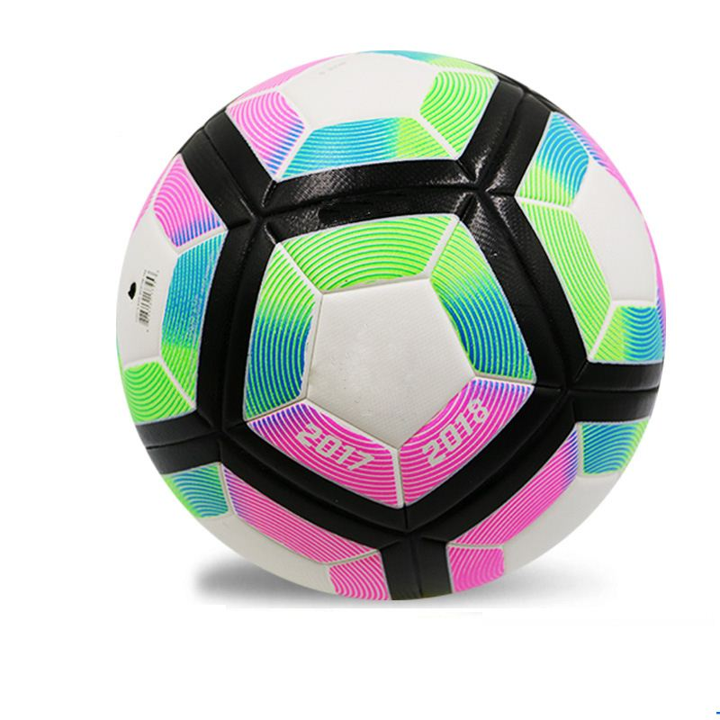 Seamless TPU leather laminated football indoor and outdoor soccer ball strike balls size 5 ...