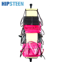 HIPSTEEN 8 Pocket Storage Bag Organizador Hanging Bags Closet Organizer Wardrobe Rack Hangers Holder For Fashion Handbag Purse