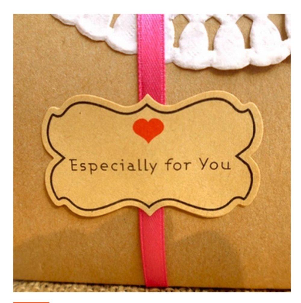 80 pçs diy especialmente para você saco de presente selagem embalagem de presente selagem especial-em forma de etiqueta kawaii cozimento para decoração de festa