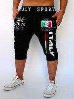 Shorts Mens Gym Tights Compression Bermuda Basketball Short Gym Italy Printing Design Sport Men Homme Running