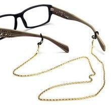 Очки для чтения очки солнцезащитные очки держатель шеи шнур металлический ремешок цепь
