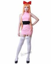 Cosplay Powerpuff Girls Costume for Women + FREE Shipping