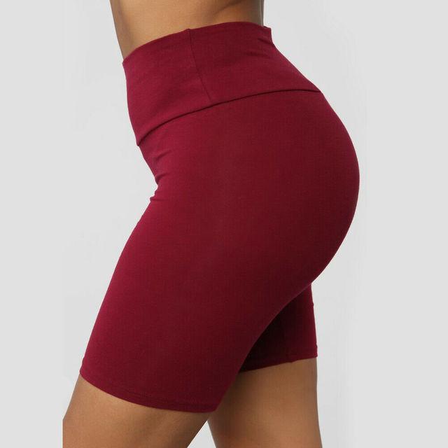 Women Sport Yoga Shorts  3