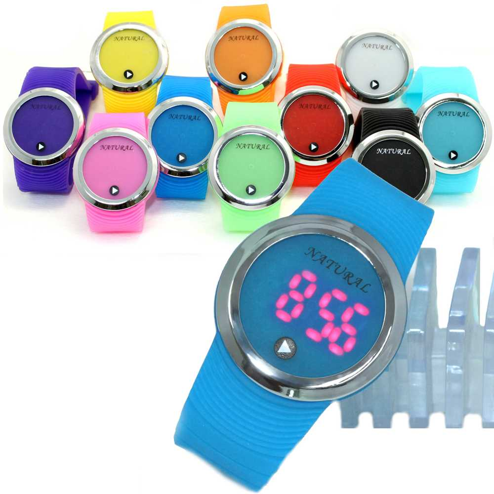 18PCS./Lots Wholesale LED Watches Assorted Color Silicone Band 18PCS./Lots Wholesale LED Watches Assorted Color Silicone Band
