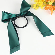 1pcs Hot selling hair accessories with sweet oversized ribbon bow tie bow tie hair rope women's hair accessories(China)