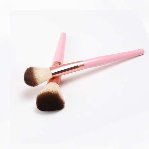 HZM 1 OR 2 Pcs Soft Synthetic Hair Big Makeup Brushes Blusher Foundation Blush Makeup Beauty Makeup Cosmetic Tools YA49 Islamabad
