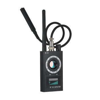 Multi-function Anti-spy Detector Camera GSM Audio Bug Finder GPS Signal Lens RF Call Tracker Detect Wireless Devices 1MHz-6.5GHz