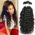 8A Unprocessed Brazilian Water Wave Brazilian Virgin Hair Ocean Wave 4 Bundles Lot Wet and Wavy Human Hair Weave Ali Moda Hair